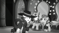 Rarity -Somepony sent Spitfire away and framed Rainbow Dash for it- S5E15