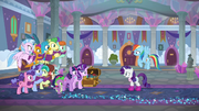 Rarity and Dash meet their friends and students S8E17