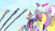 S01E03 Wonderbolts na pokazach