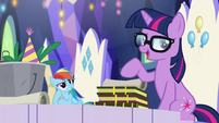 "Sci-Twi ""ordinary ponies who save the world"" EGSB"