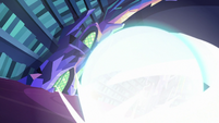 Starlight's exploding shield engulfs the library S6E21