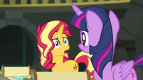 Sunset Shimmer asking -how-- EGFF