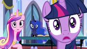 Twilight, Luna e Cadance chocadas T4E25