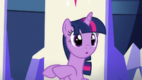 "Twilight (in unison with Pinkie) ""Tomorrow!"" S5E19"