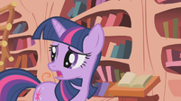 Twilight Sparkle -causing all this smoke- S1E07