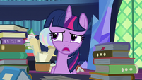 Twilight Sparkle -isn't going to help right now- S7E26