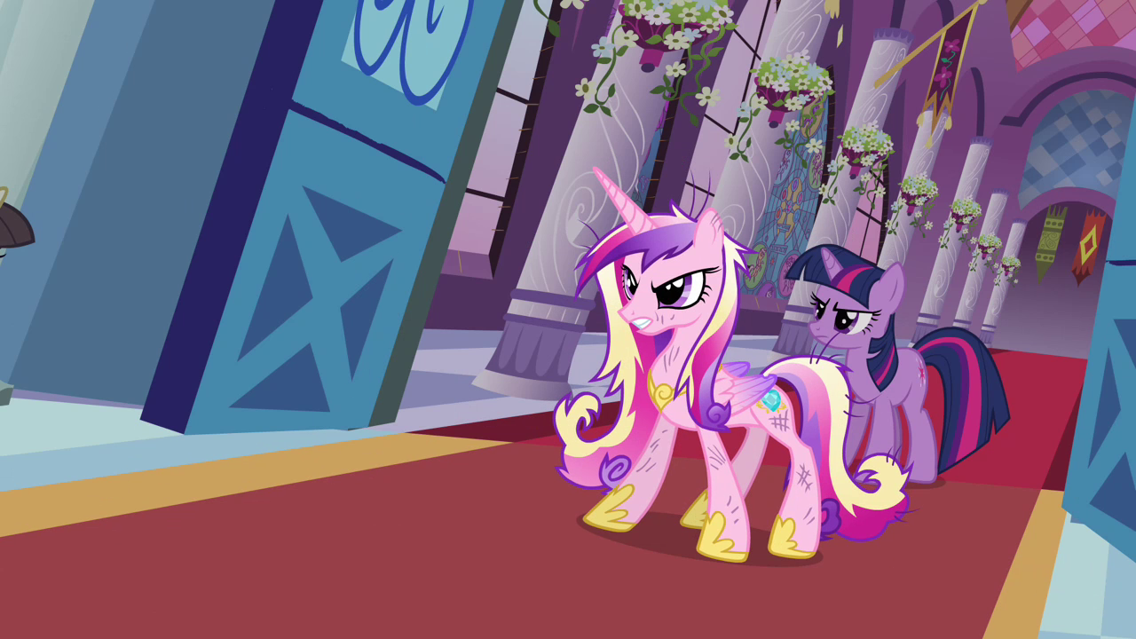 Twilight And Cadance Stop The Wedding S02e26 Png