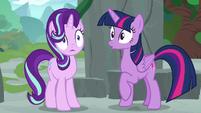 Twilight and Starlight hear Spike's voice S7E25