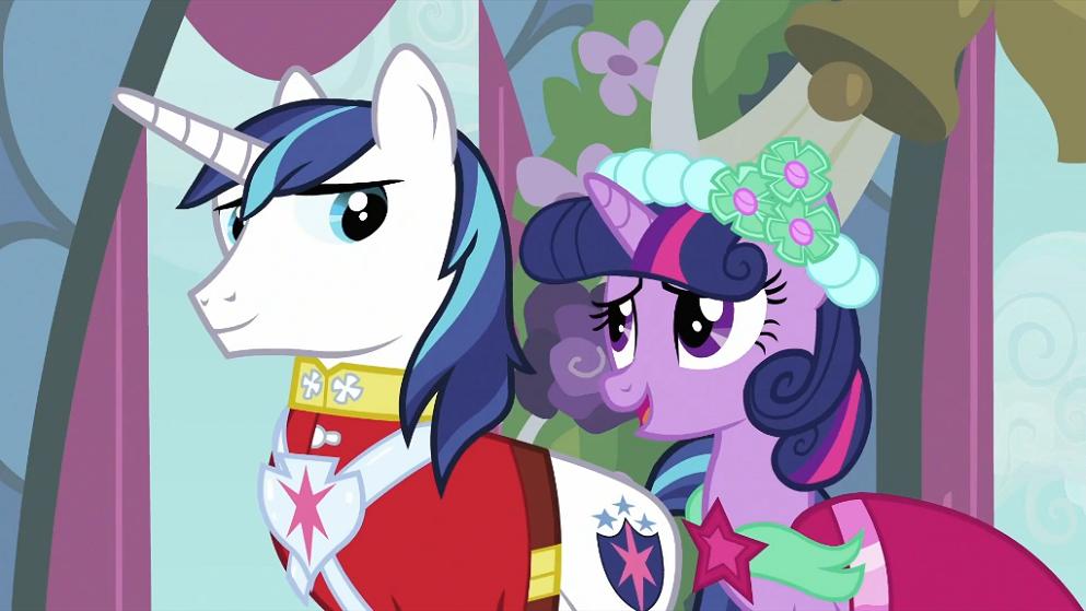 shining armor my little pony friendship is magic wiki fandom