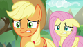 AJ and Fluttershy look very concerned S8E23.png