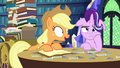 "Applejack ""so Goldie Delicious says"" S6E21.png"