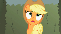Applejack has a bad feeling about Discord S2E01