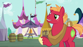 Big Mac confused by Applejack's insinuation S6E23.png