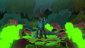 Chrysalis' clones rising from their shells S8E13