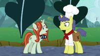 "Crackle Cosette ""use their own hooves"" S9E24"