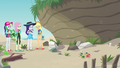 Fluttershy and friends find the baby turtles EGDS14.png