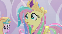 Fluttershy having a realization S8E7