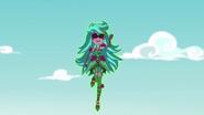 Gloriosa Daisy rising into the air EG4