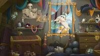 MLP The Movie background art - Celaeno's treasure room