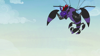 Pharynx transforms into a flying spider beast S7E17