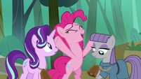"Pinkie Pie ""I can track your progress"" S7E4"