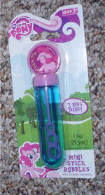 Pinkie Pie Mini Stick Bubbles