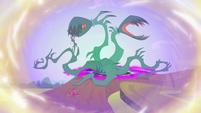 Plant monster menacing Sunset and Sugarcoat EGFF