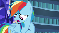 "Rainbow Dash ""not that I can think of"" S7E23"