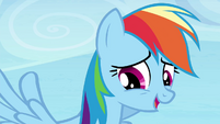 "Rainbow Dash ""point taken"" S4E25"