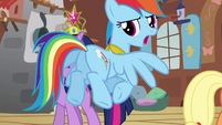 "Rainbow Dash ""we'll be outside"" S03E10"