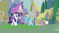Rainbow Dash brags about Tank S03E11
