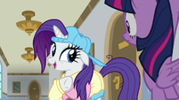 "Rarity ""can you get a message to Spike?"" S8E16"