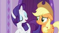 "Rarity ""start our short time at the spa"" S6E10"