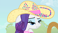 Rarity 'how does Applejack do it' S4E13
