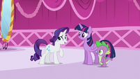 Rarity --You've returned from your book sorting sabbatical!-- S5E22