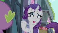 Rarity -I knew I could count on you- S4E23