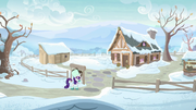 Rarity arrives at Sweet Acorn Orchard MLPBGE