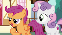 "Scootaloo ""like how I used my bungee jumping"" S6E4"
