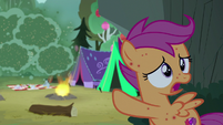 "Scootaloo ""where did those terrible bugs come from?"" S7E16"