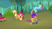 Scootaloo continues riding S3E06