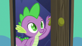Spike enters Starlight Glimmer's bedroom S6E21.png