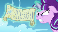 Starlight begins tearing the scroll S5E26