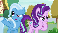 Trixie --as the rest of Equestria is-- S6E25