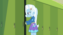 Trixie Lulamoon at her school locker EGFF
