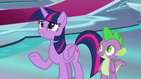 Twilight -I didn't know you used to act!- S8E7