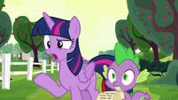 "Twilight Sparkle ""Rarity and Pinkie's fault"" S6E22"