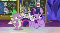 "Twilight Sparkle ""if one of us fails"" S9E4"
