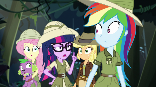 """File:Twilight Sparkle """"the latest Daring Do book"""" EGS1.png"""