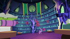 Twilight Sparkle in the castle library S7E14