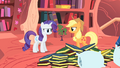 Applejack and Rarity react to Twilight's proposal S1E08.png
